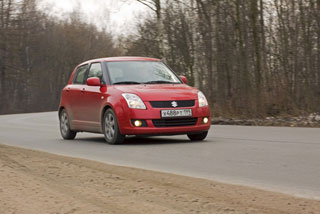 тест-драйв suzuki swift