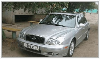 Hyundai Sonata 2006-2009 2.7 AT